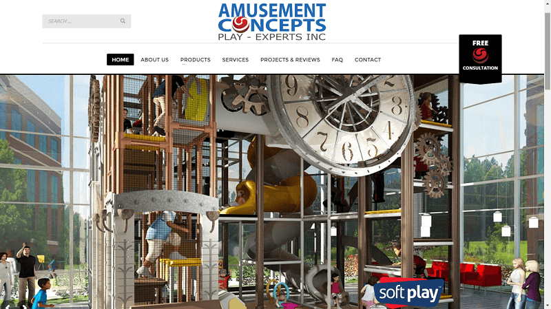 Amusement Concepts Site